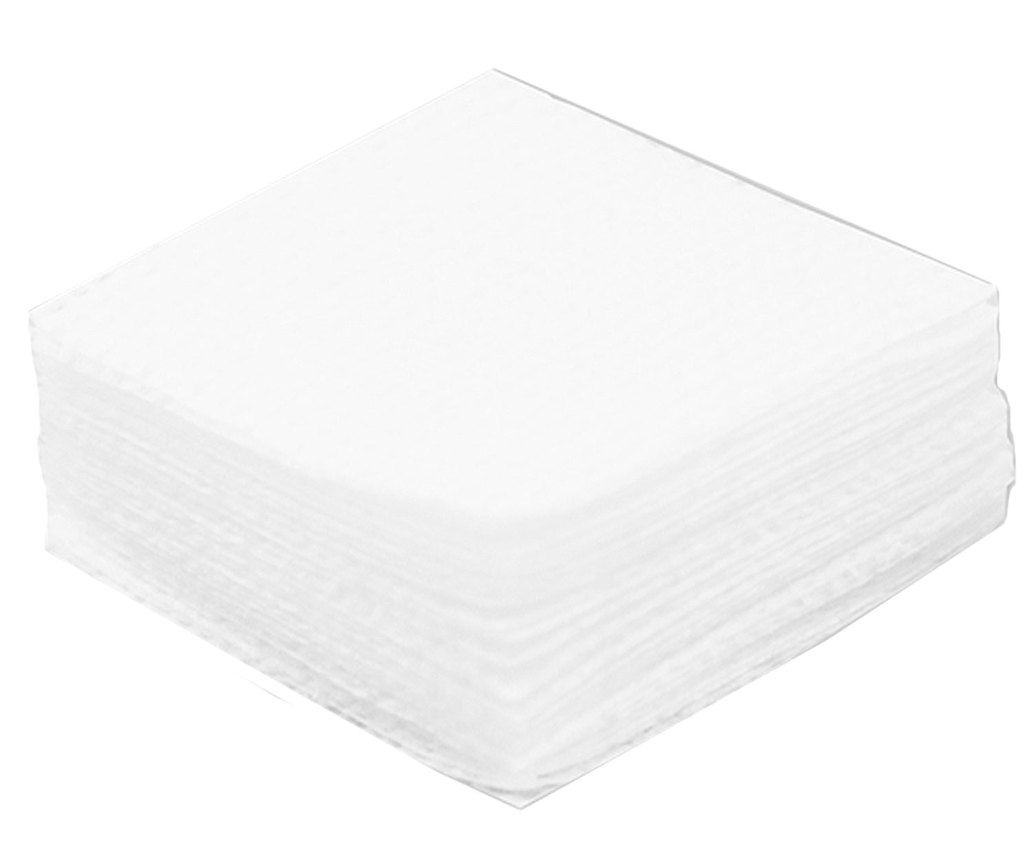 Birchwood Casey Cleaning Patch  <br>  Square 1.75 in. 7 mm.-.38 Cal. 750 pk.