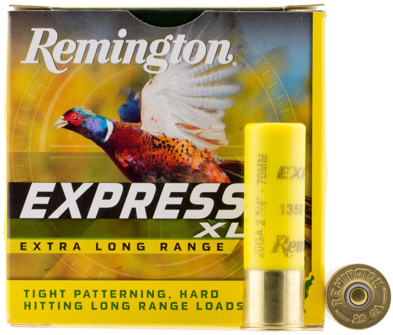 Remington Ammunition NEHV2075 Express XLR  20 Gauge 2.75