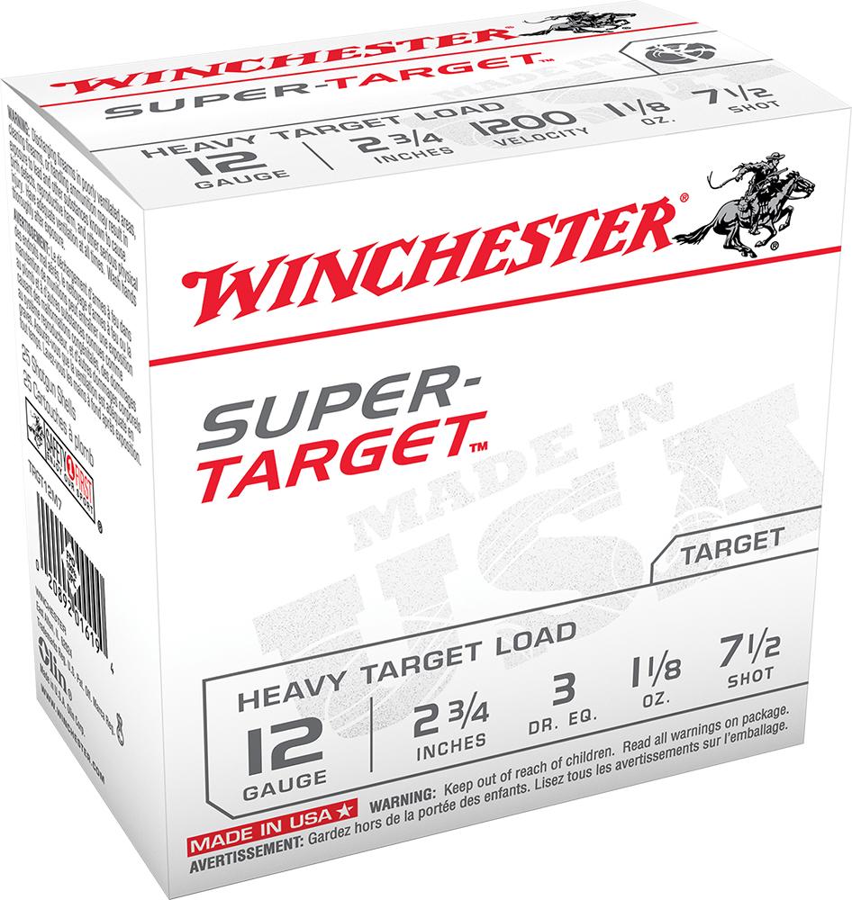 Winchester Ammo TRGT12M7 Super Target Heavy 12 Gauge 2.75