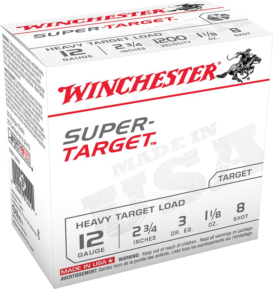 Winchester Ammo TRGT12M8 Super Target Heavy 12 Gauge 2.75