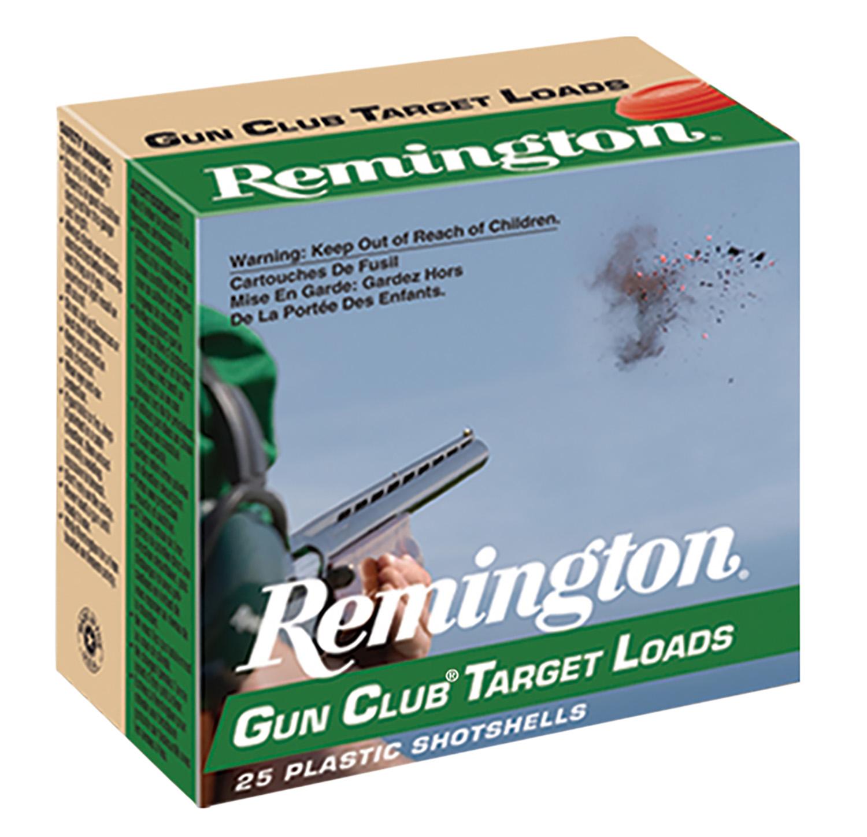 Remington Ammunition GC207 Gun Club   20 Gauge 2.75