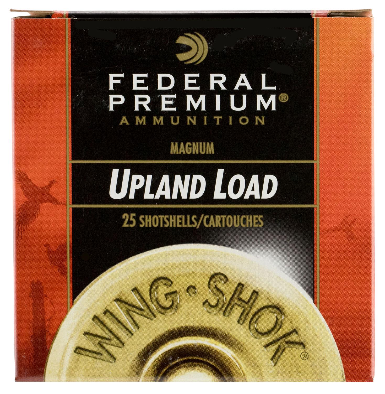 Federal P1296 Premium Upland Wing-Shok 12 Gauge 3