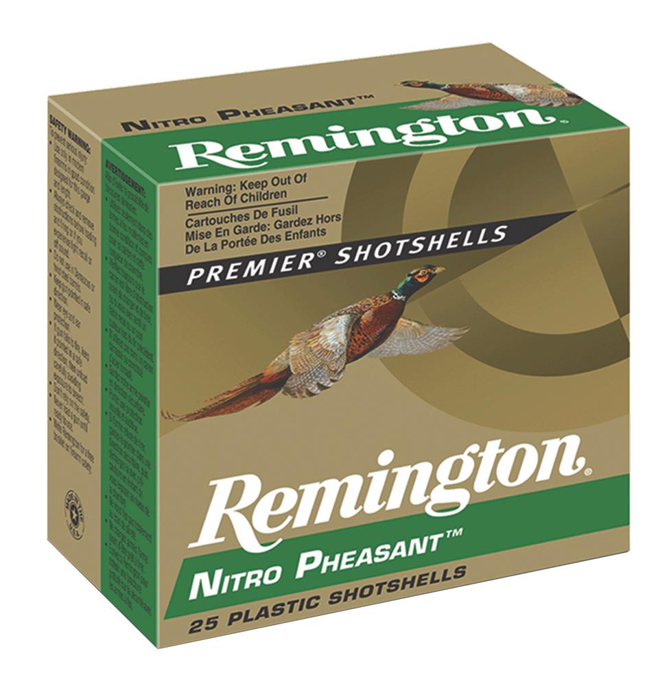 Remington Ammunition NP12M4 Premier Nitro Pheasant  12 Gauge 2.75