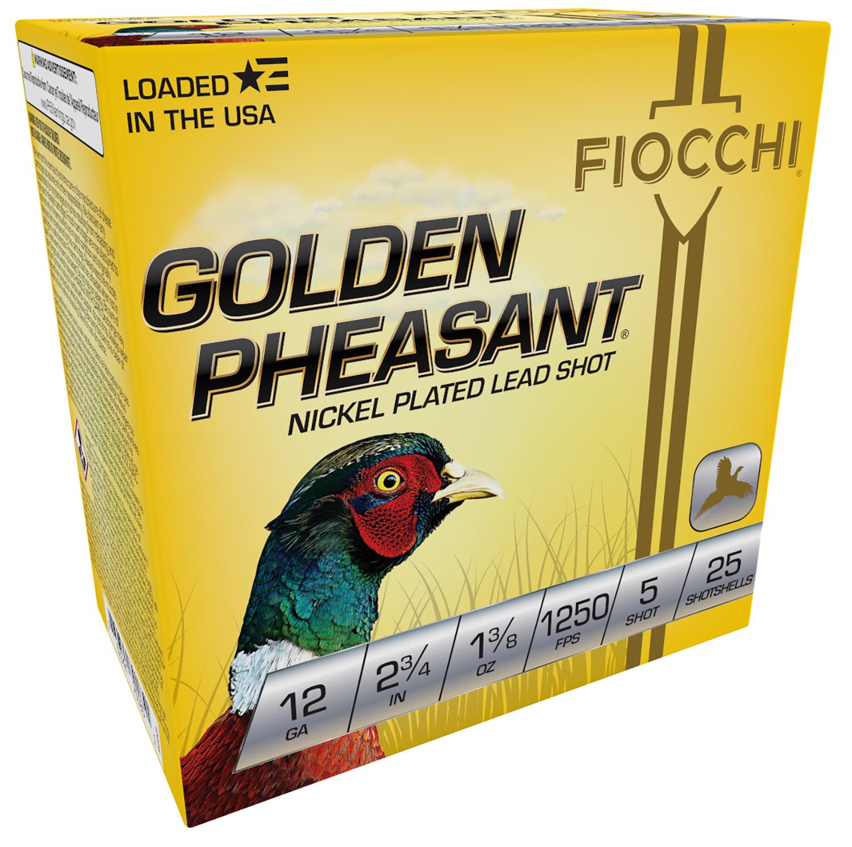 Fiocchi 12GP5 Extrema Golden Pheasant  12 Gauge 2.75