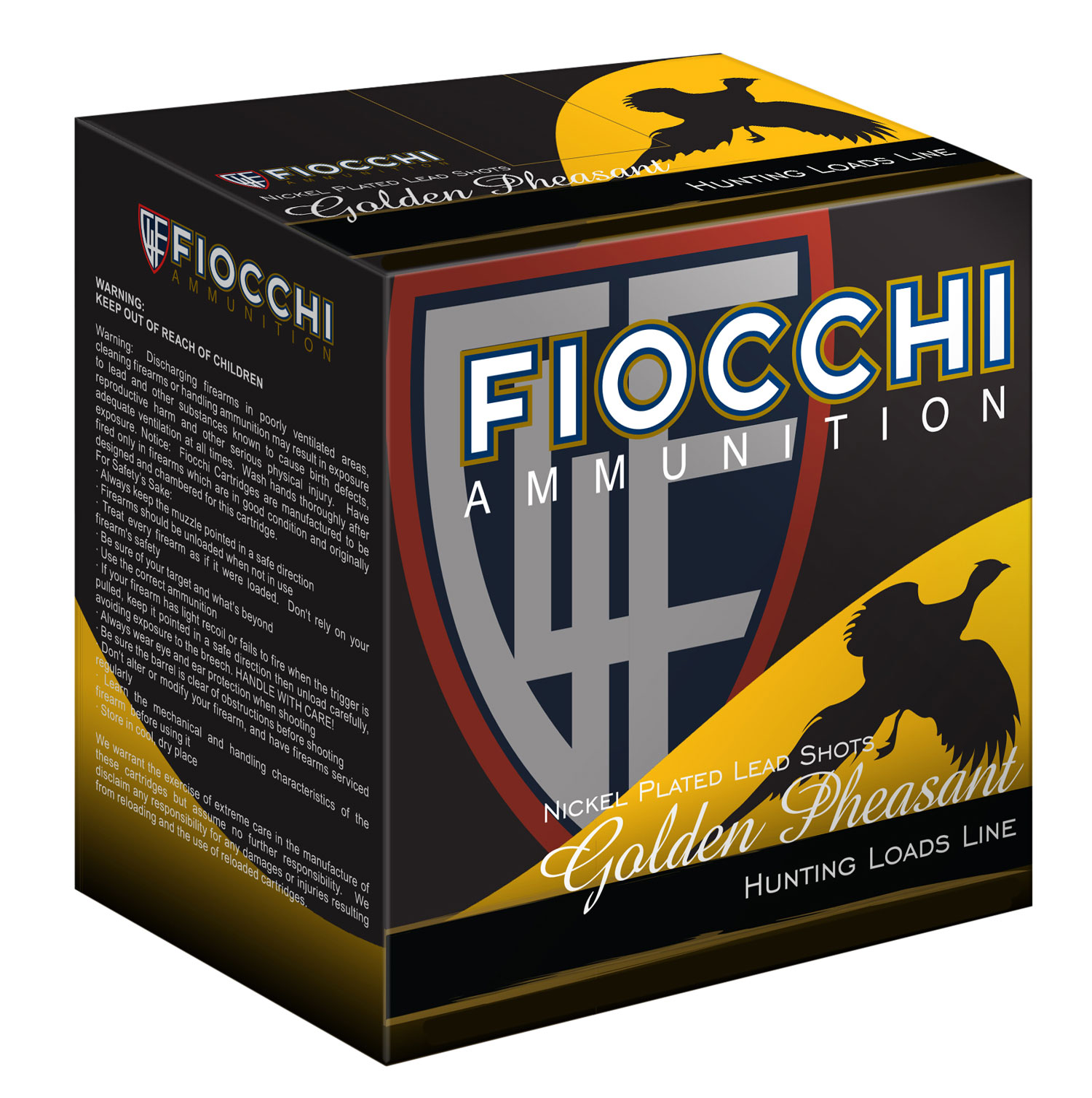 Fiocchi 123GP4 Extrema Golden Pheasant  12 Gauge 3