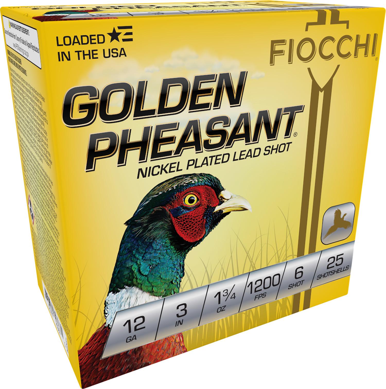 Fiocchi 123GP6 Extrema Golden Pheasant  12 Gauge 3