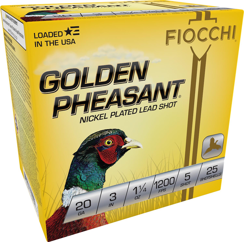 Fiocchi 203GP5 Extrema Golden Pheasant  20 Gauge 3