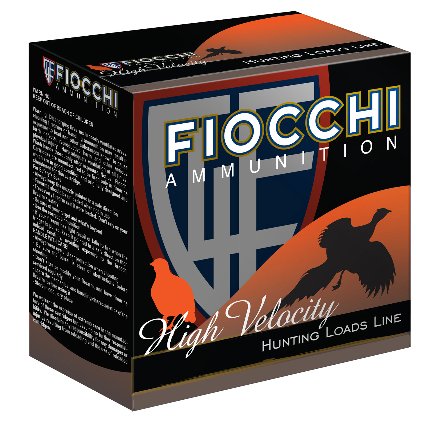 Fiocchi 28HV6 Shooting Dynamics High Velocity  28 Gauge 2.75