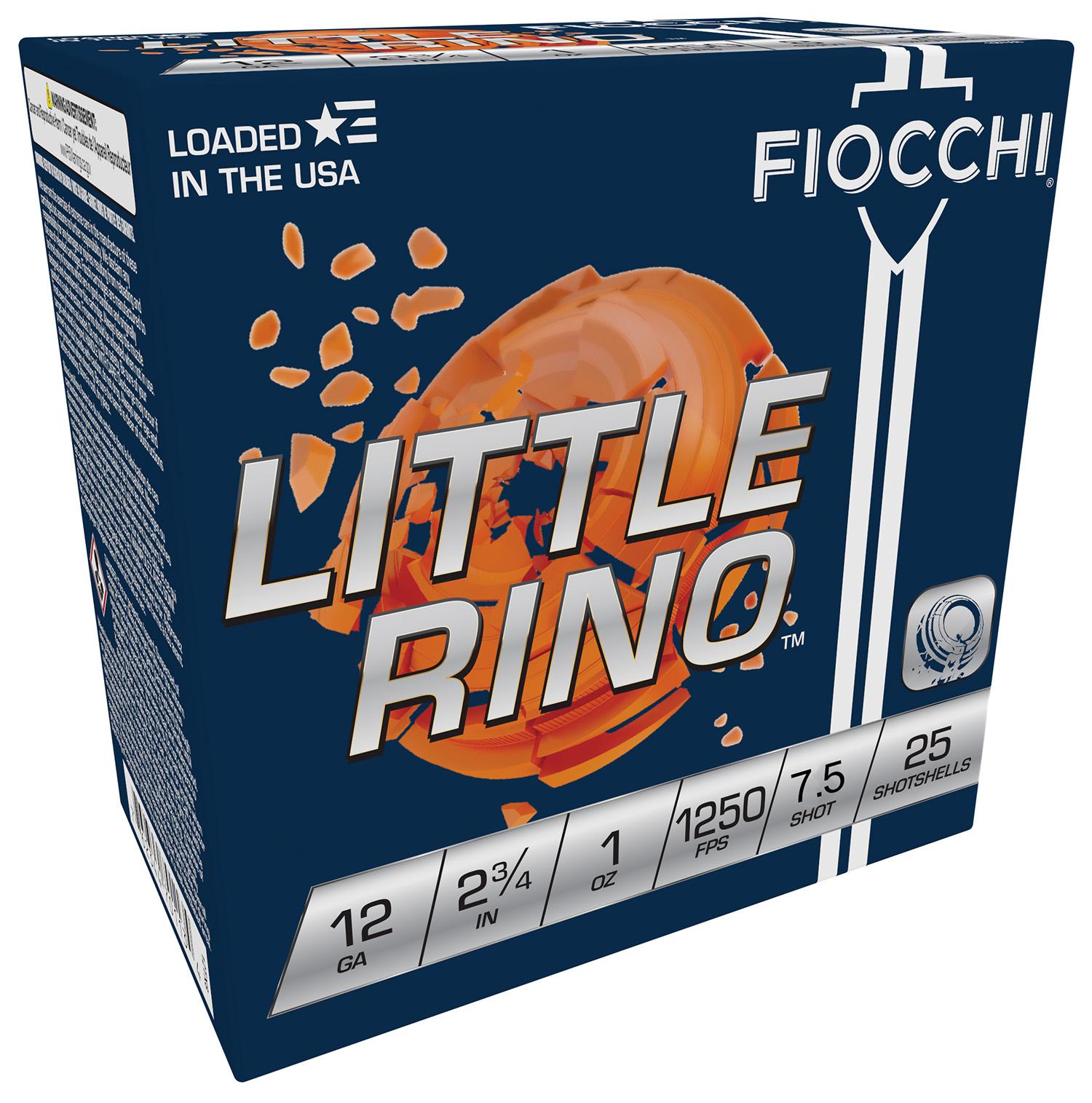 Fiocchi 12TX75 Exacta Little Rino  12 Gauge 2.75