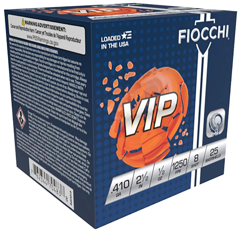 Fiocchi 410VIP8 Exacta VIP  410 Gauge 2.5