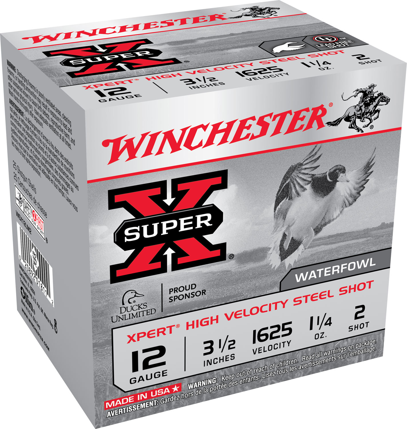 Winchester Ammo WEX12LM2 Super-X Xpert High Velocity 12 Gauge 3.50