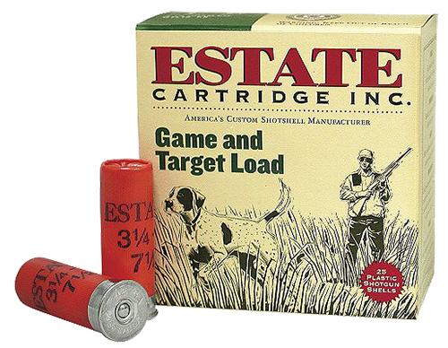 Estate GTL128 Hunting Loads Game & Target  12 Gauge 2.75