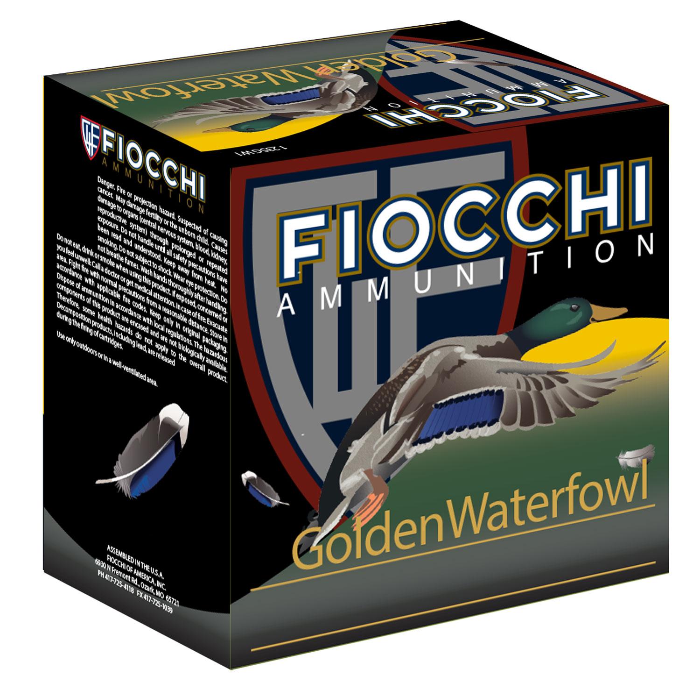 Fiocchi 123SGWBB Exacta Golden Waterfowl  12 Gauge 3