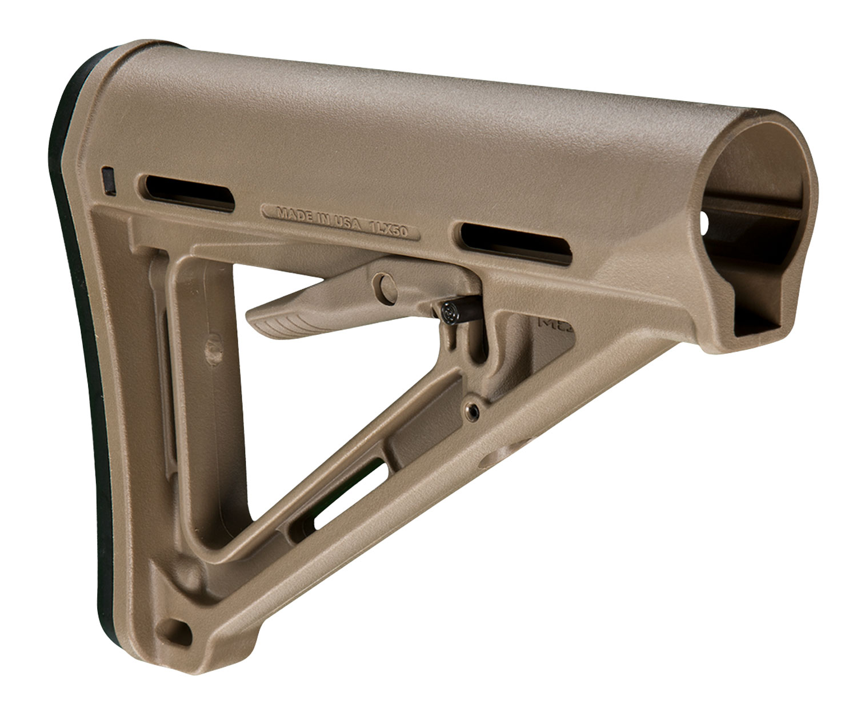 Magpul MAG400-FDE Moe Mil-Spec AR-15 Reinforced Polymer Flat Dark Earth