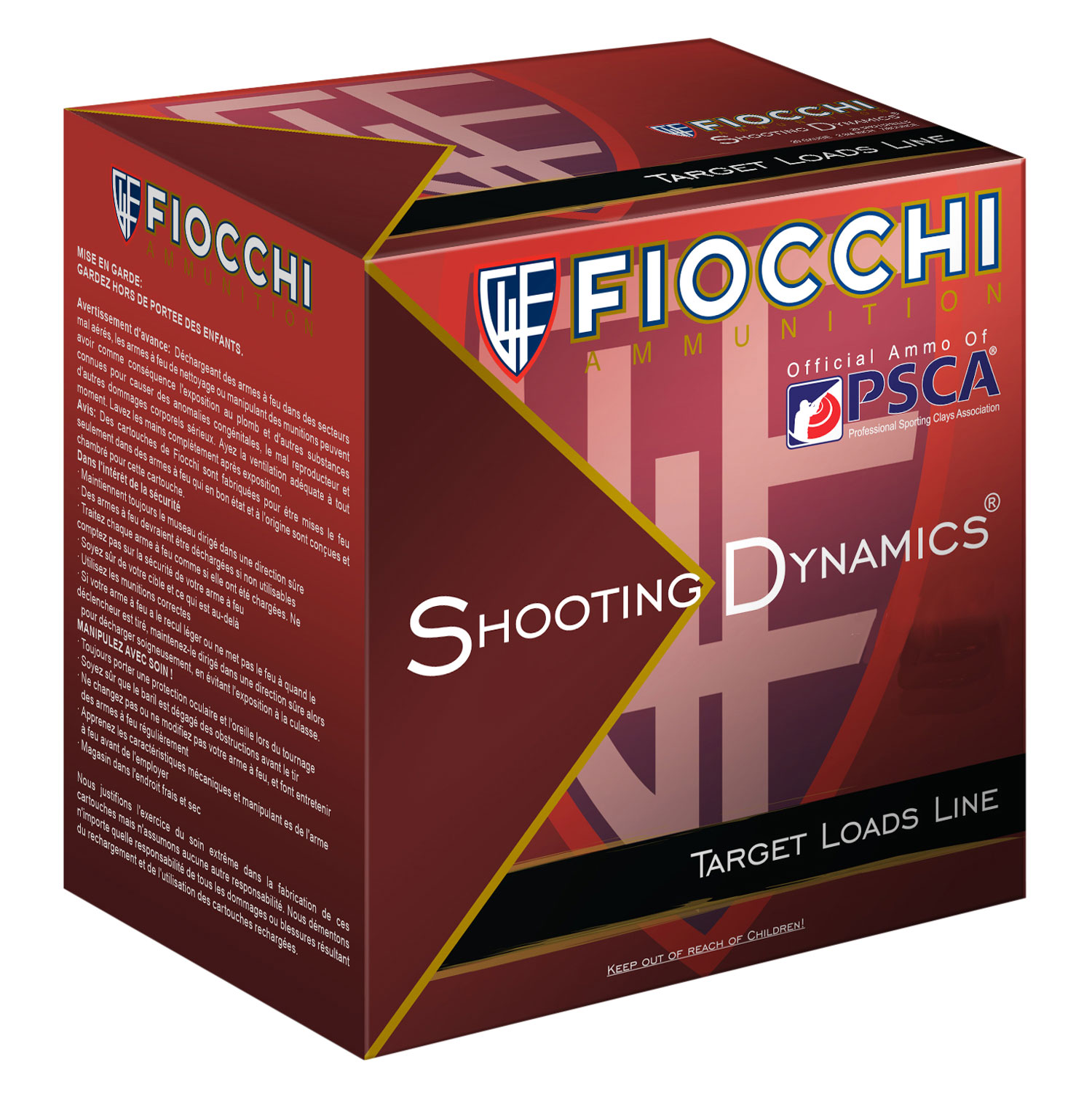Fiocchi 12SD18L75 Shooting Dynamics Light Dynamic  12 Gauge 2.75