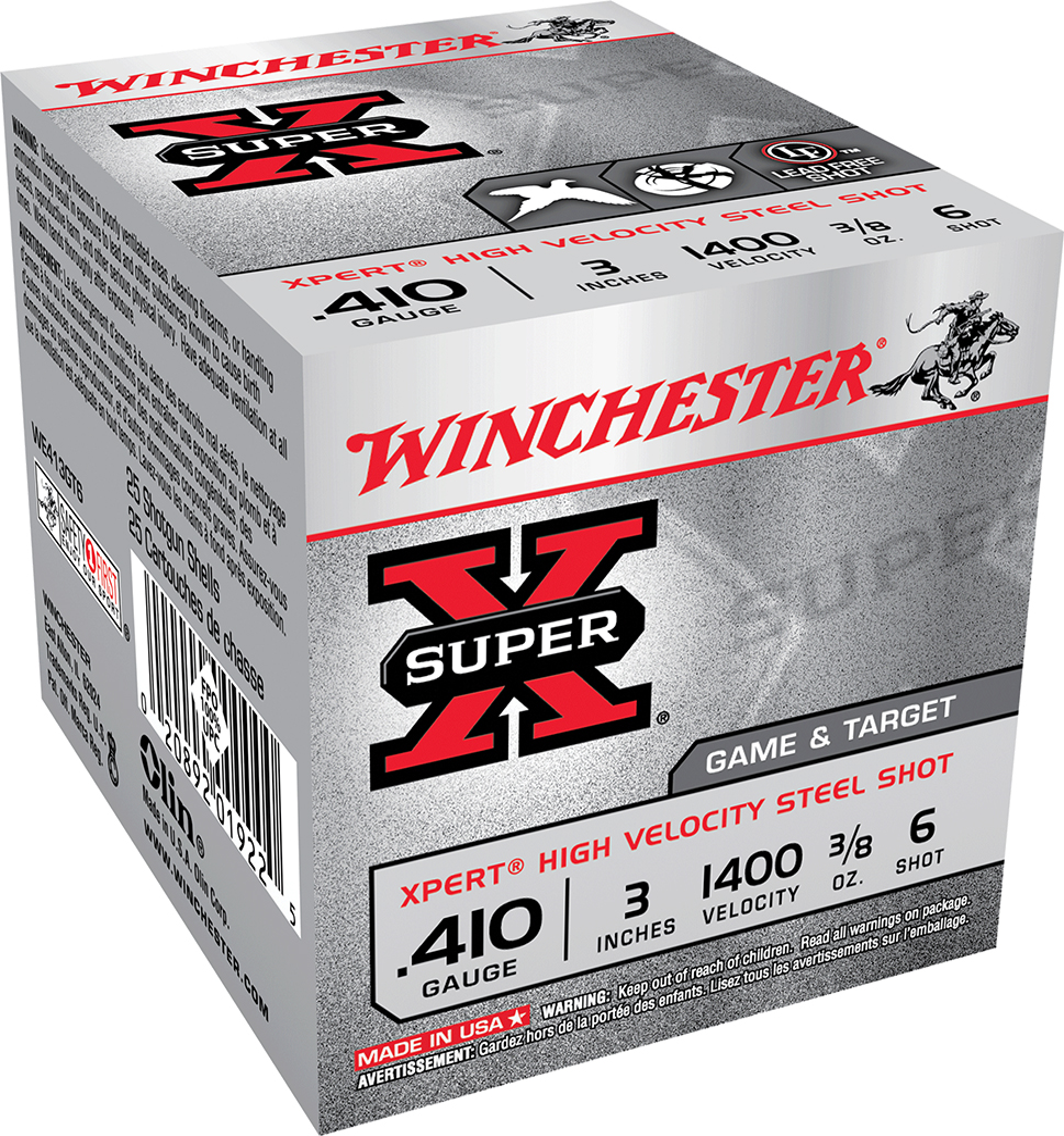 Winchester Ammo WE413GT6 Super X Xpert High Velocity 410 Gauge 3