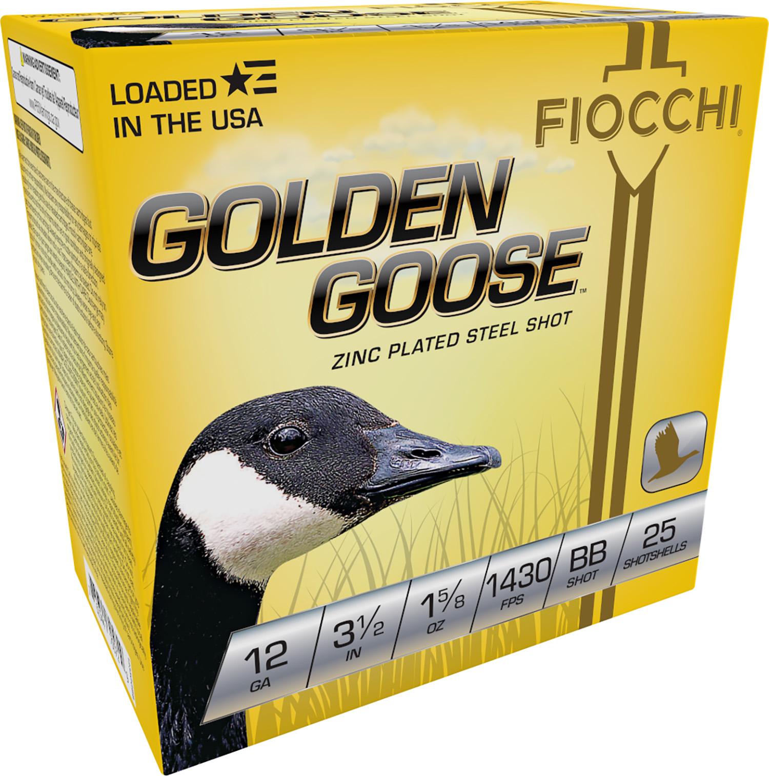 Fiocchi 1235GGBB Extrema Golden Waterfowl  12 Gauge 3.5