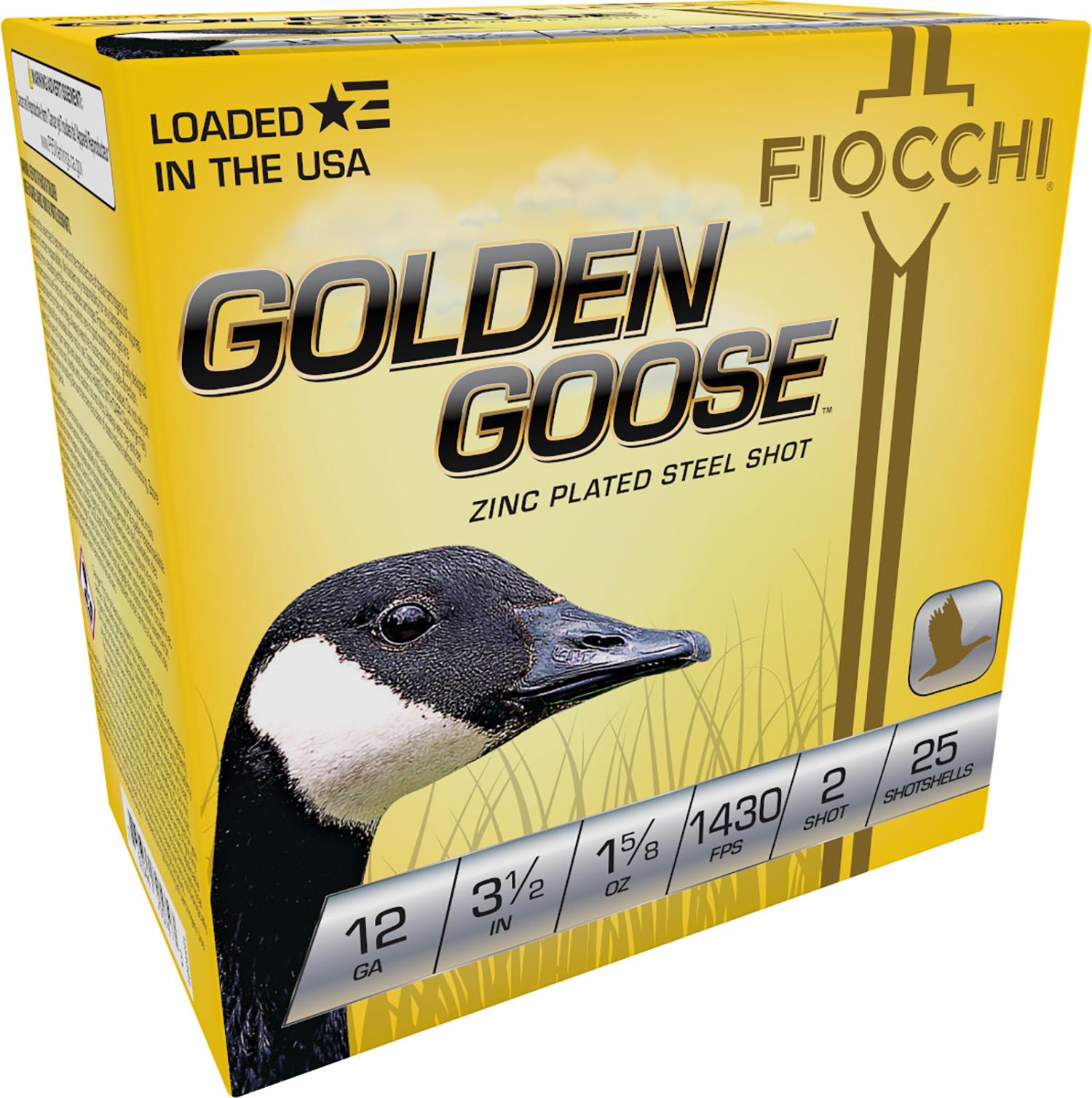 Fiocchi 1235GG2 Extrema Golden Waterfowl  12 Gauge 3.5
