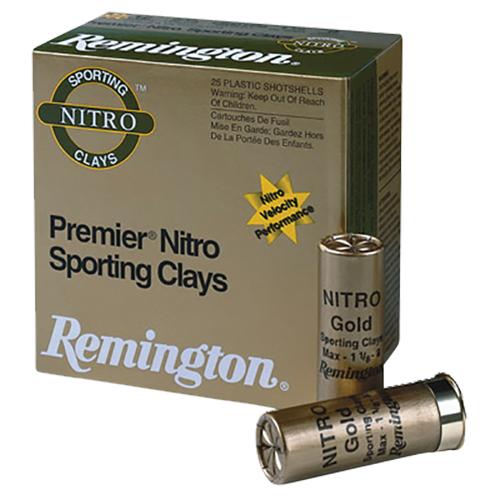 Remington Ammunition STS12NSC17 Premier Nitro Sporting Clays 12 Gauge 2.75