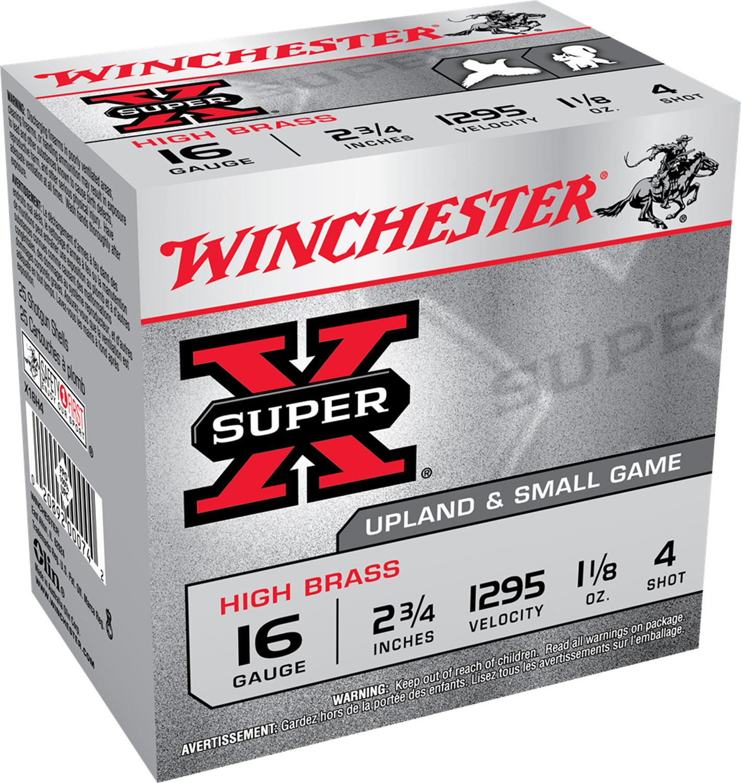 Winchester Ammo X16H4 Super-X High Brass  16 Gauge 2.75