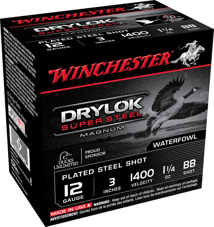 Winchester Ammo XSV123BB Drylock Super Steel Magnum 12 Gauge 3