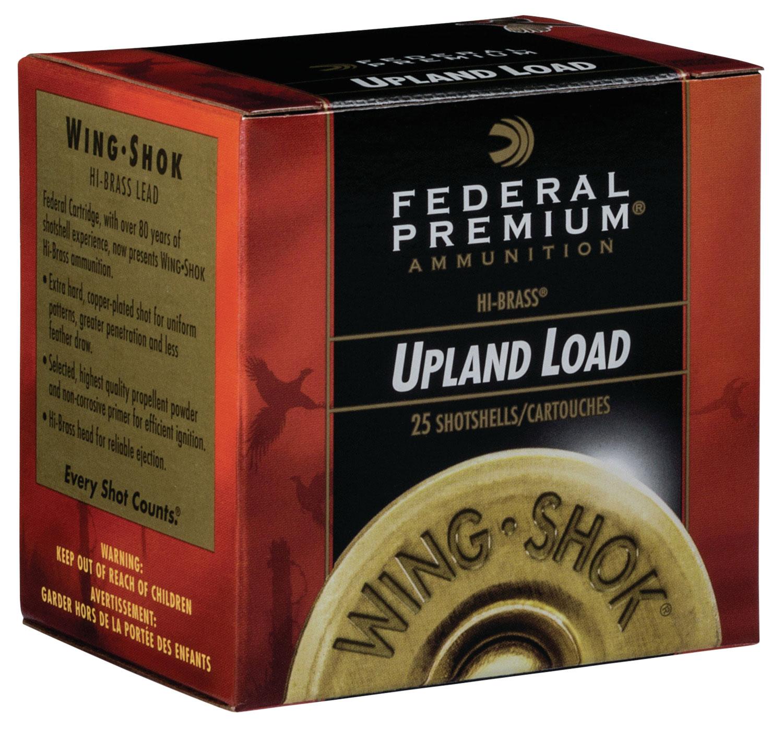 Federal P2836 Premium Upland Wing-Shok High Velocity  28 Gauge 2.75