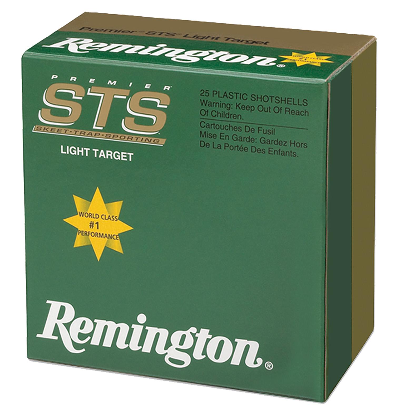 Remington Ammunition STS12LH8 Premier STS Target Load  12 Gauge 2.75