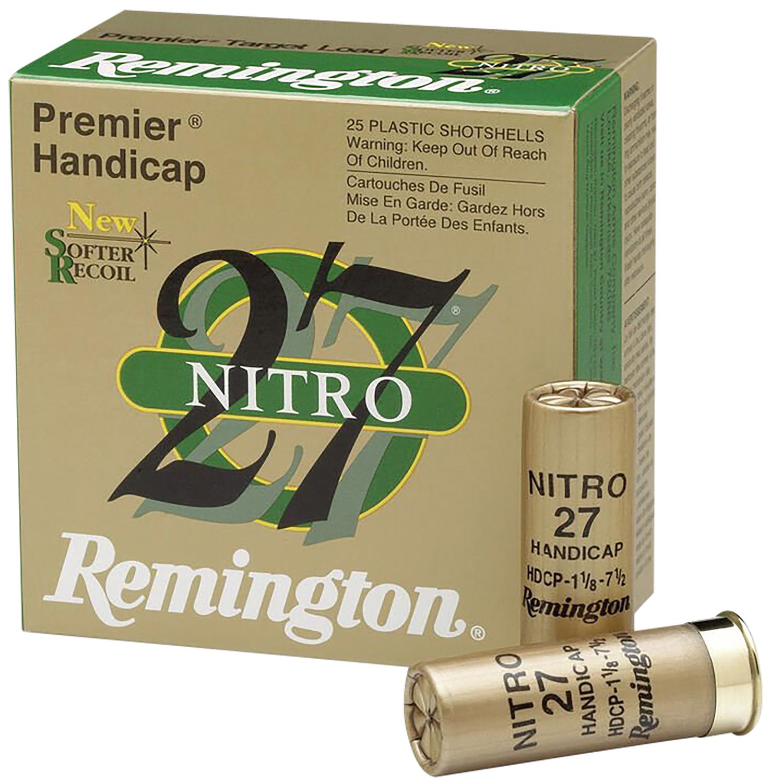 Remington Ammunition STS12NH8 Premier STS Target Load  12 Gauge 2.75