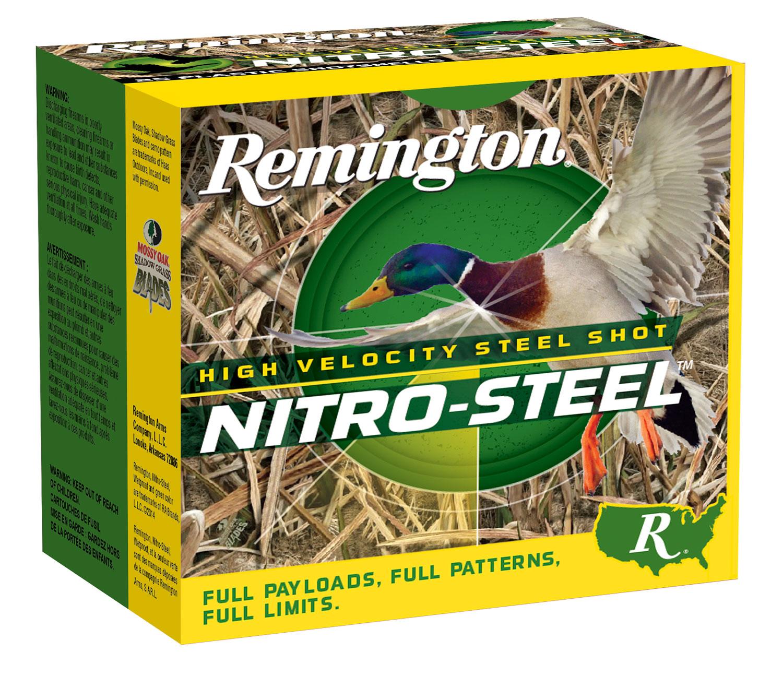 Remington Ammunition NS12M3 Nitro Steel   12 Gauge 3