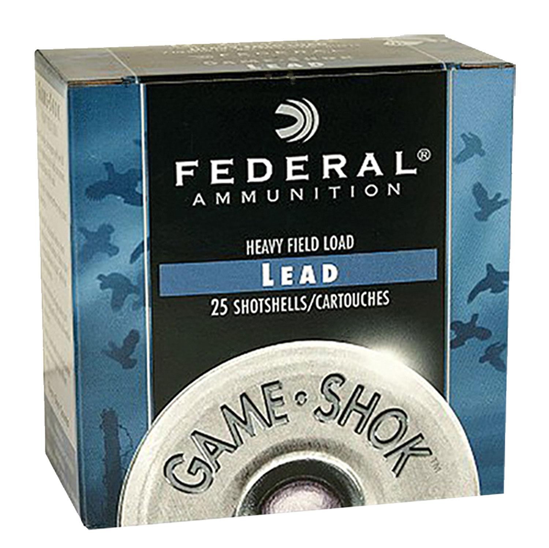 Federal H1216 Game-Shok Upland 12 Gauge 2.75