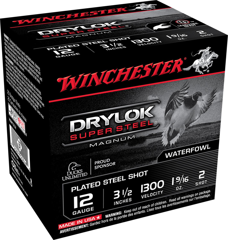 Winchester Ammo XSM12L2 Drylock Super Steel Magnum 12 Gauge 3.5