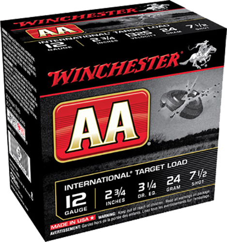 Winchester Ammo AANL127 AA International  12 Gauge 2.75