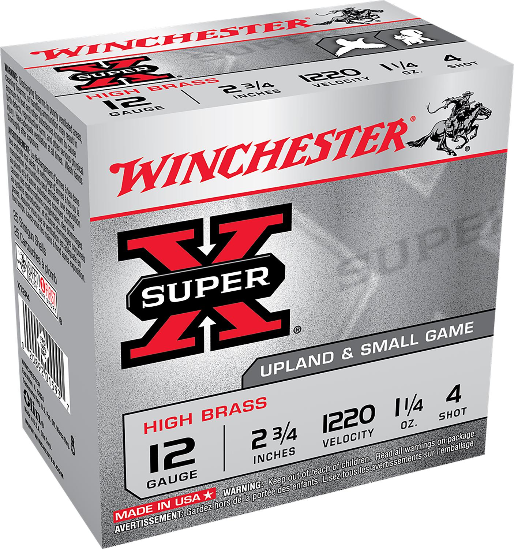 Winchester Ammo X12P4 Super Pheasant High Brass  12 Gauge 2.75