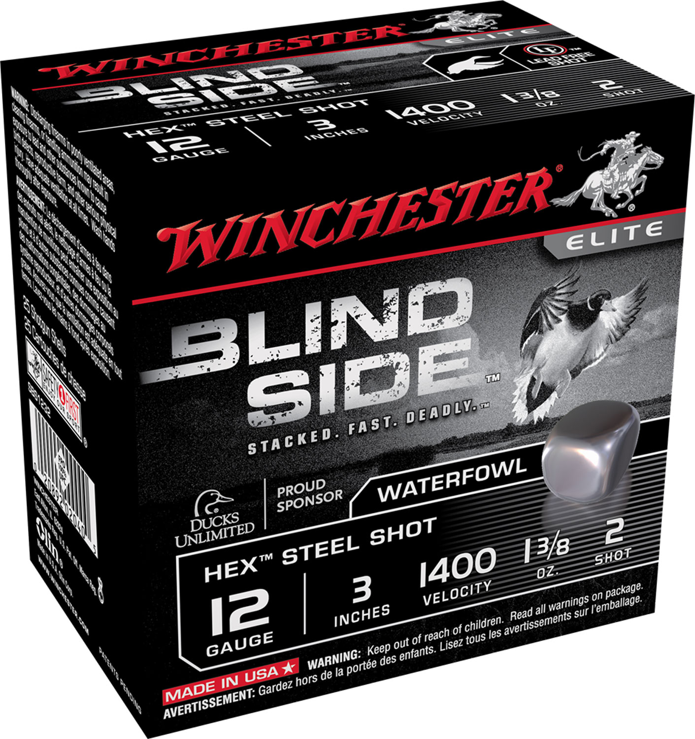 Winchester Ammo SBS1232 Blindside  12 Gauge 3