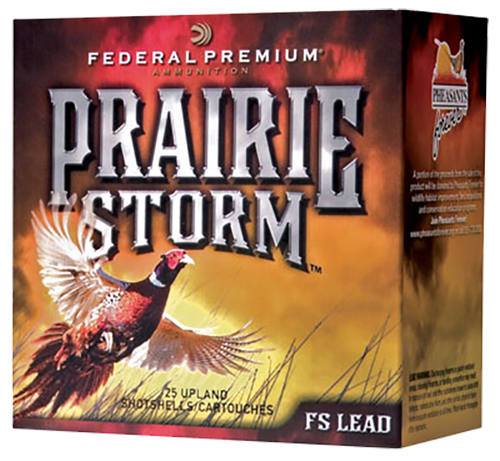 Federal PF204FS4 Prairie Storm FS Lead  20 Gauge 2.75