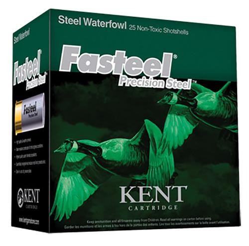 Kent Cartridge K122ST363 Fasteel Waterfowl 12 Ga 2.75