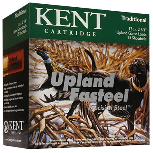 Kent Cartridge K122US286 Fasteel 12 Gauge 2.75