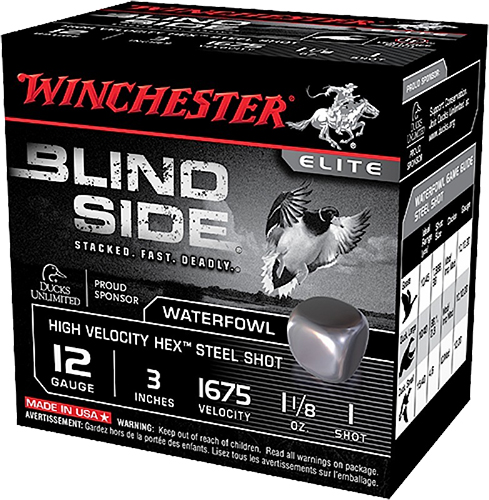 Winchester Ammo SBS123HV3 Blindside High Velocity  12 Gauge 3