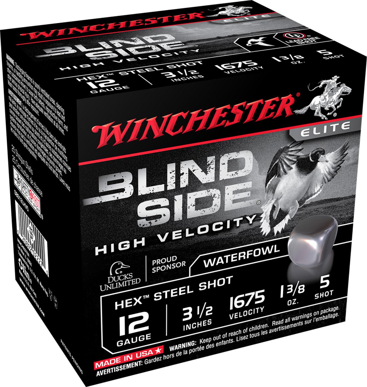 Winchester Ammo SBS123HVBB Blindside High Velocity  12 Gauge 3