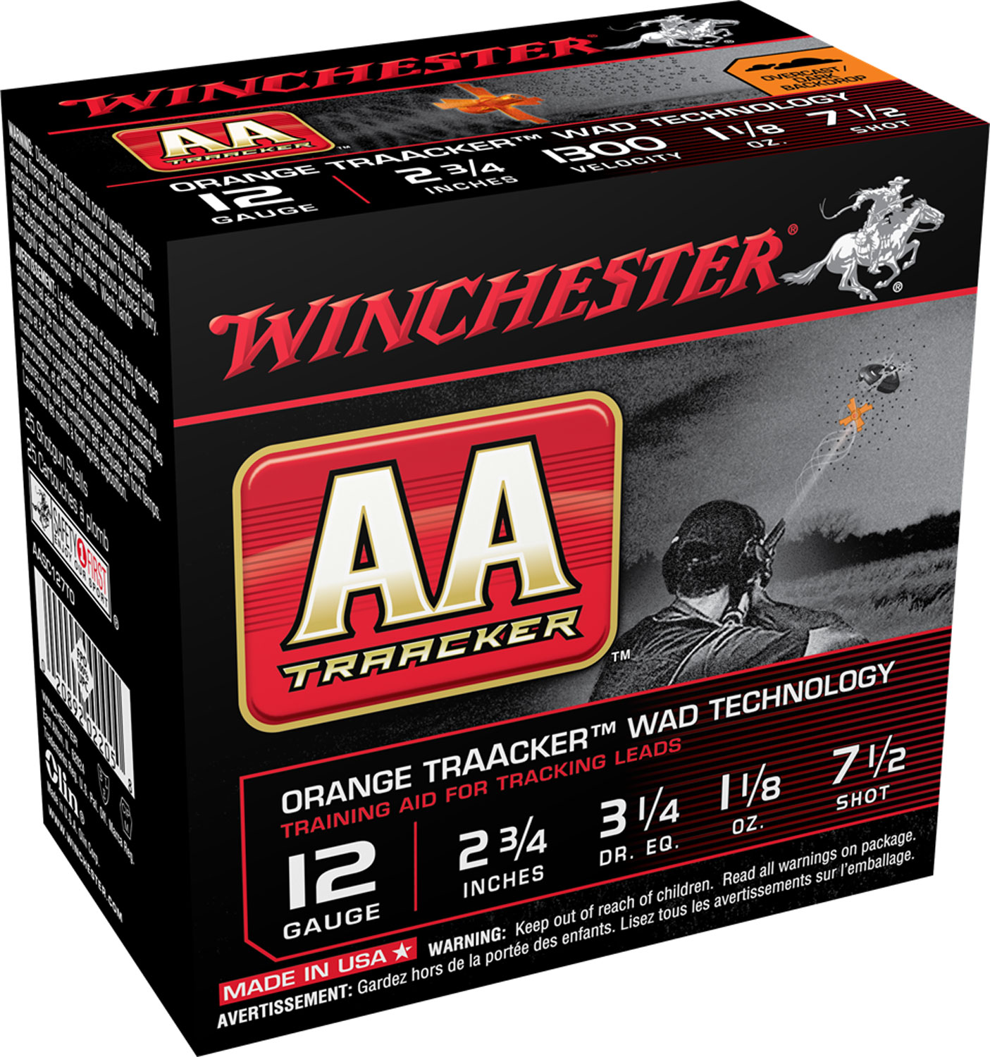Winchester Ammo AASC127TO AA TrAAcker  12 Gauge 2.75