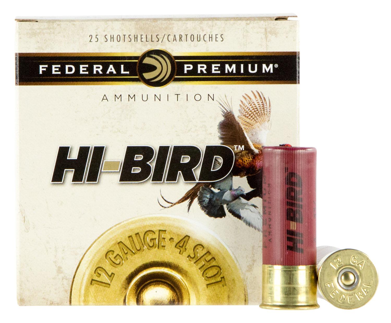 Federal HVF12H8 Premium Upland Hi-Bird 12 Gauge 2.75