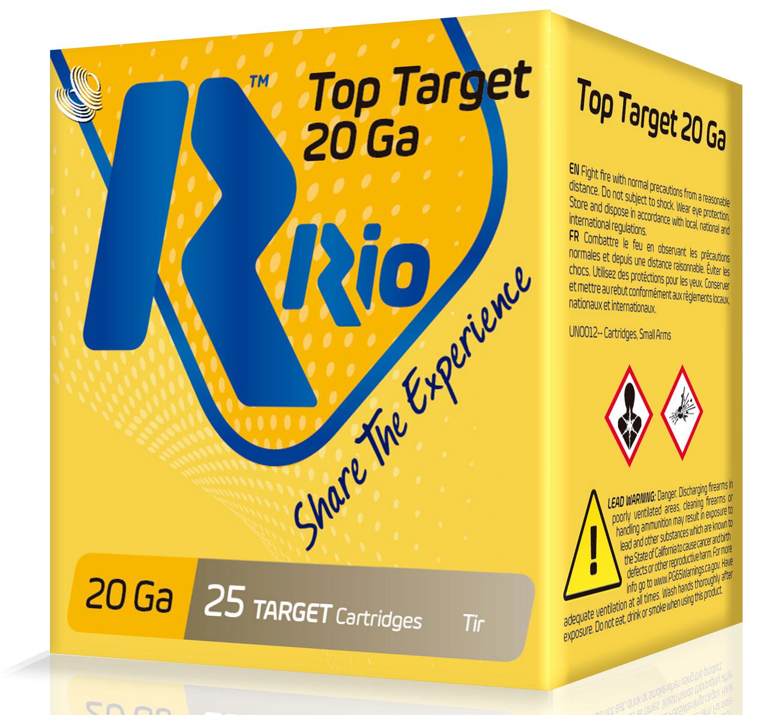 RIO AMMUNITION TT208 Top Target  20 Gauge 2.75