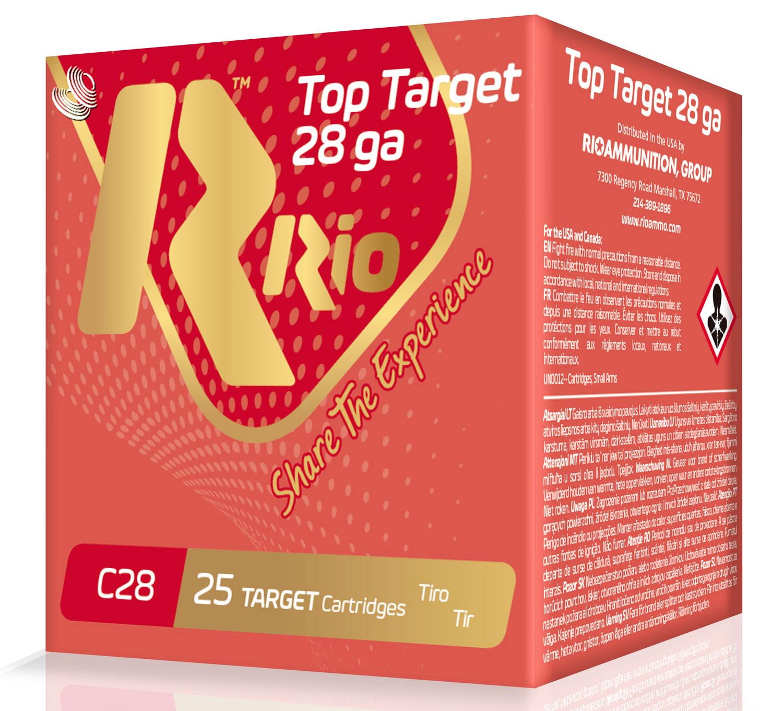 RIO AMMUNITION RC289 Top Target  28 Gauge 2.75