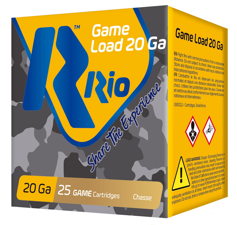 RIO AMMUNITION RC2075 Game Load  20 Gauge 2.75