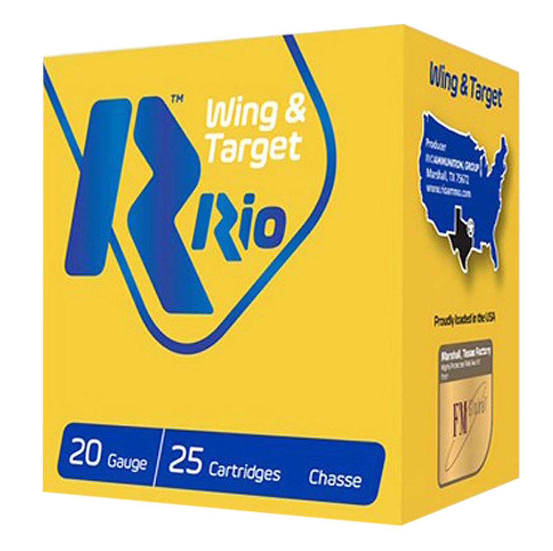 RIO AMMUNITION WT2075 Wing & Target  20 Gauge 2.75