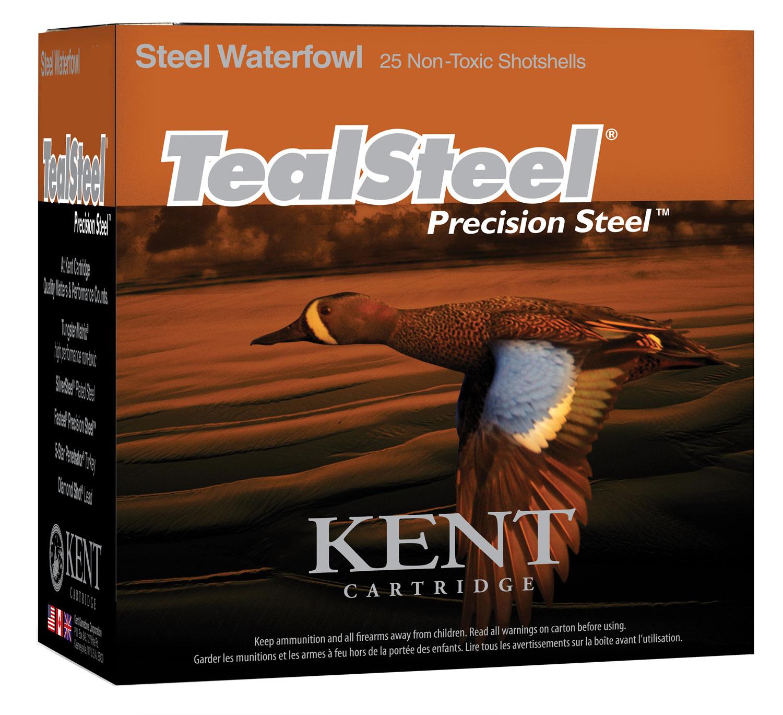Kent Cartridge KTS123365 Teal Steel  12 Gauge 3