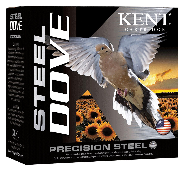 Kent Cartridge K20SD246 Steel Dove  20 Gauge 2.75