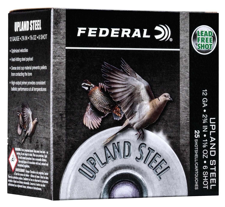 Federal USH126 Upland Steel  12 Gauge 2.75