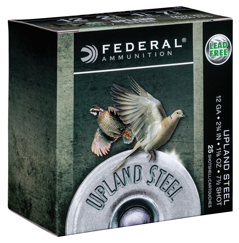 Federal USH1275 Upland Steel  12 Gauge 2.75