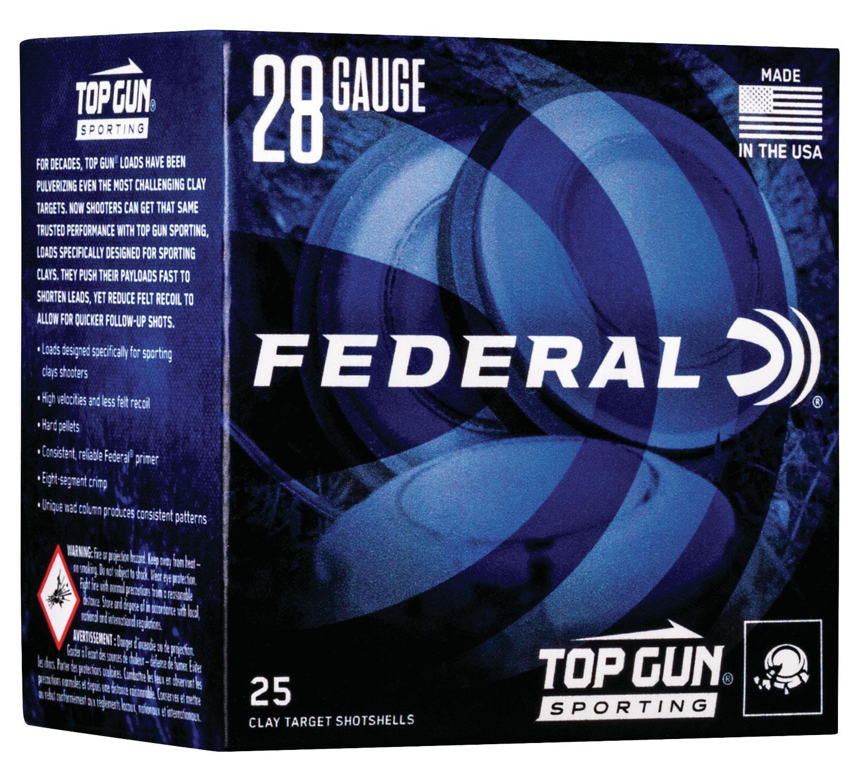 Federal TGS282175 Top Gun Sporting  28 Gauge 2.75
